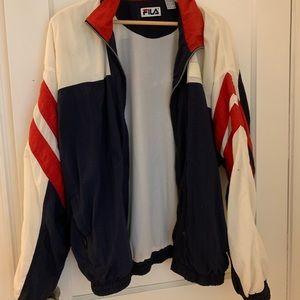 Fila Jackets & Coats - Vintage Fila Oversized Windbreaker